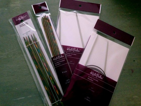 New needles!